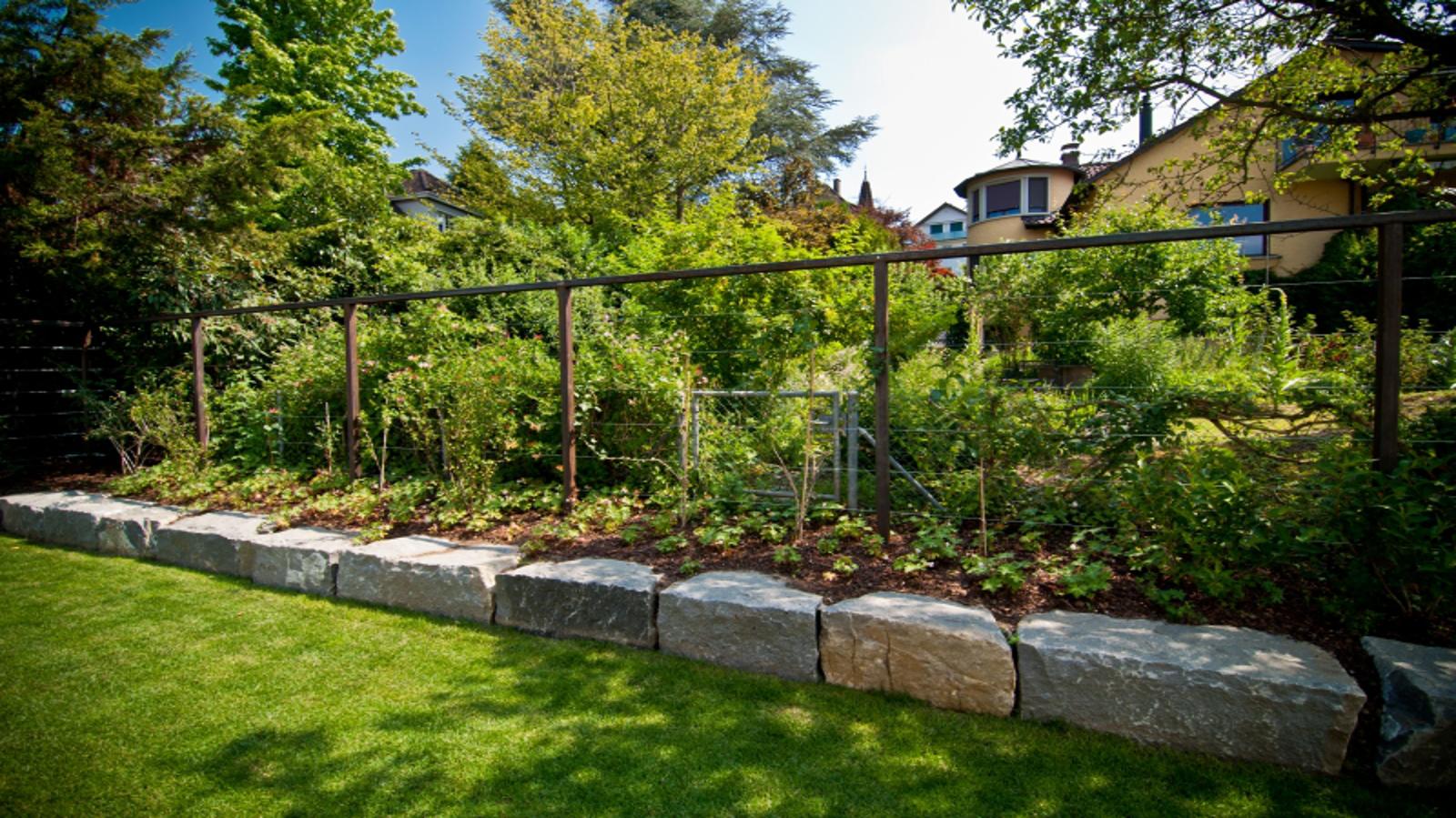 Steingarten mit grsern good mit steinen und grsern - Stauden fur steingarten ...